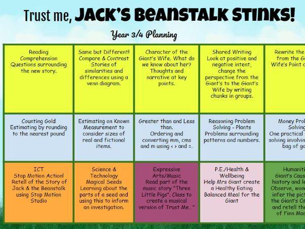 Trust Me, Jack's Beanstalk Stinks Complete Unit of Work