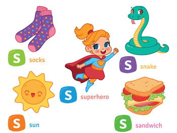 Sample of Alphabet Clipart N to Z