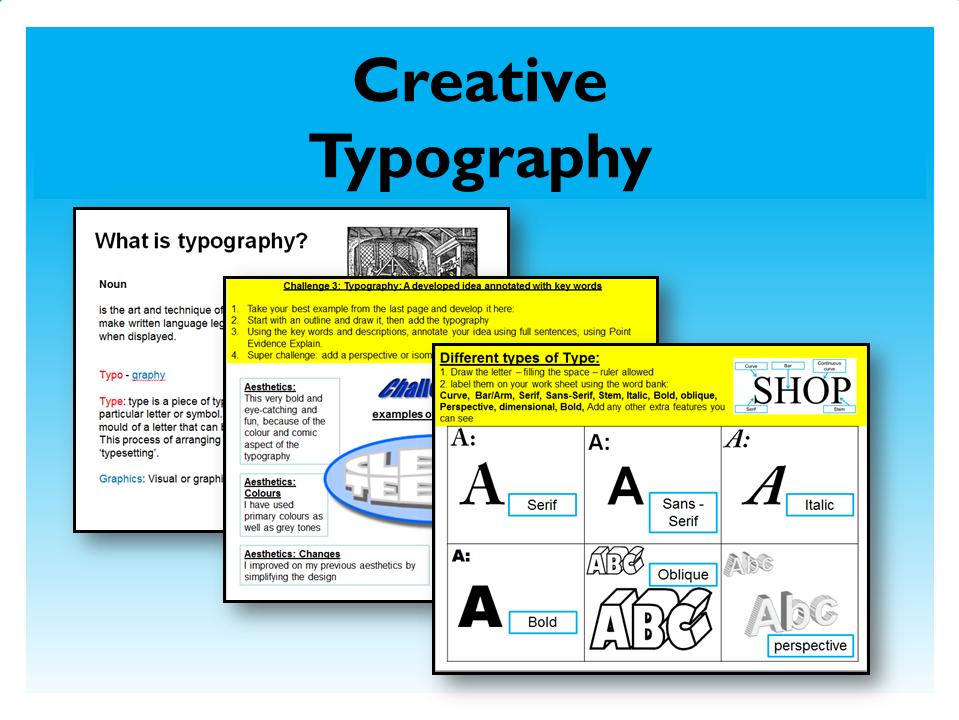 11. Graphic Design: Creative Typography