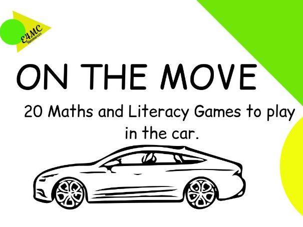 Maths and Literacy Games On The Move.