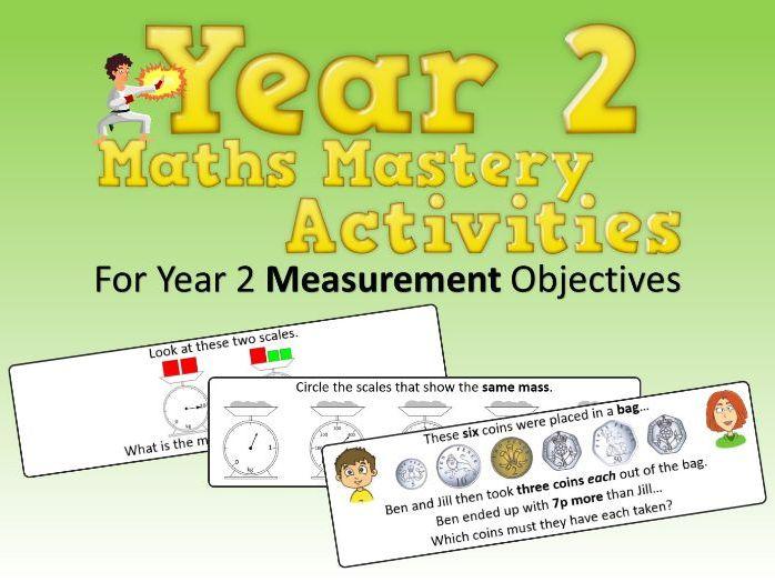Measurement Mastery Activities – Year 2