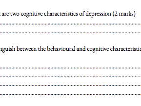 Attachment and Psychopathology A level past paper booklet
