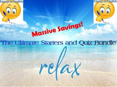 The Ultimate Starters and Quiz Bundle