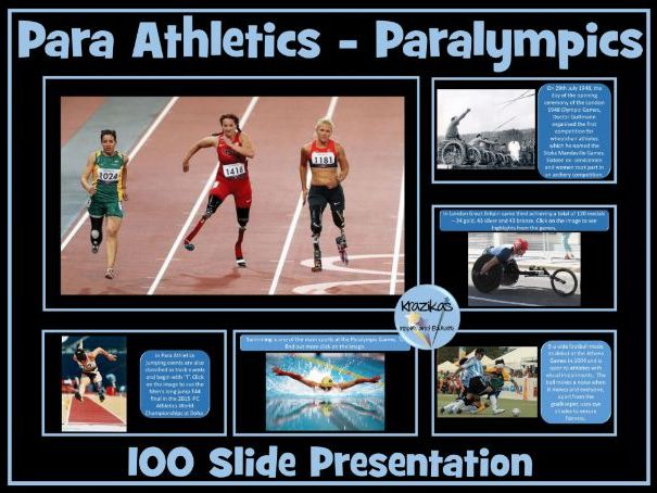 Para Athletics and Paralympics