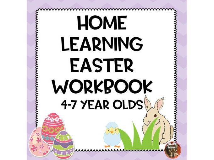 Home Learning Easter Workbook