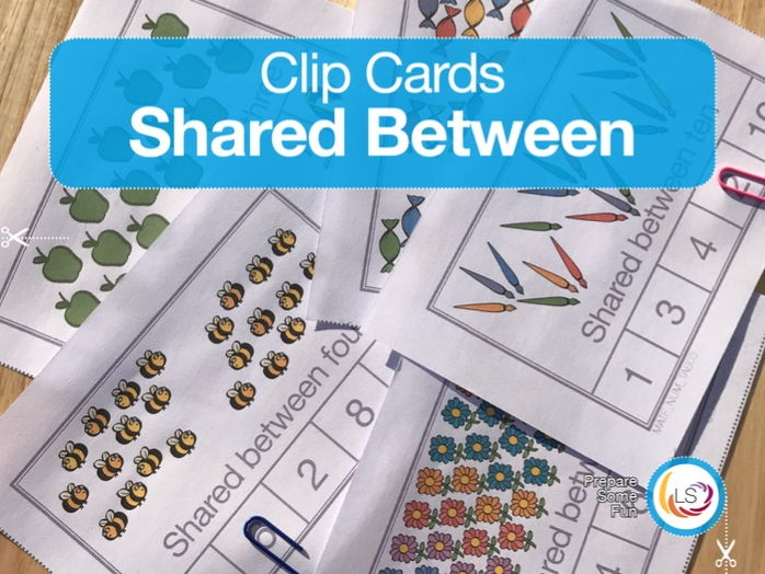 Shared Between - Clip Cards