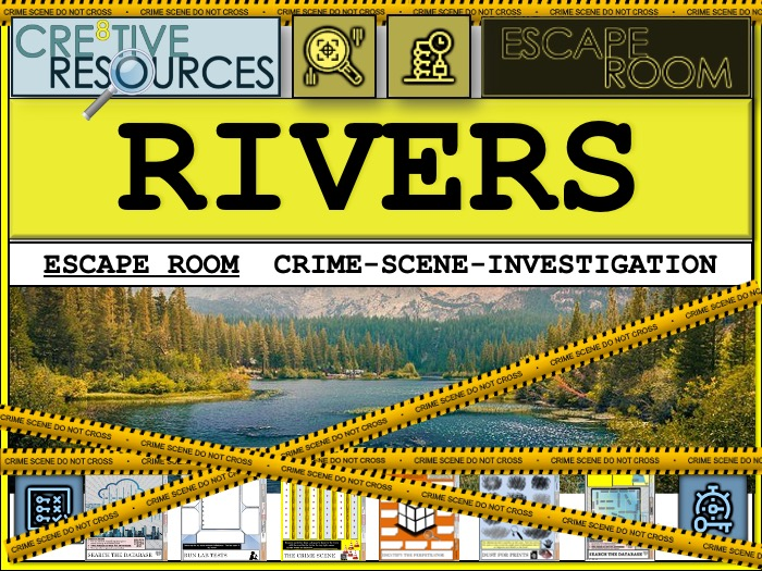 Rivers - Geography Escape Room