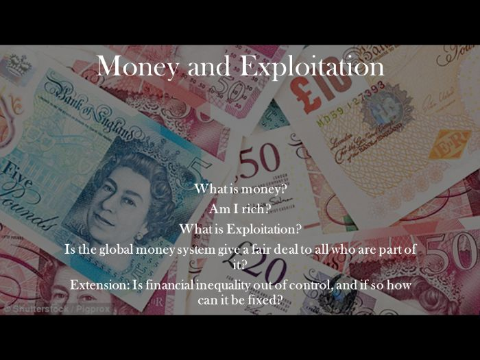 Lesson 3: Global Citizenship (Money and Inequality)