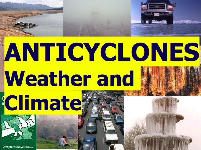 What are Anticyclones? Weather and Climate