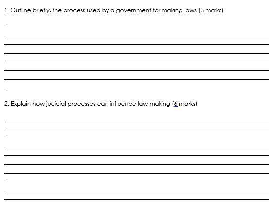 WJEC Criminology - Unit 4 assessment booklet