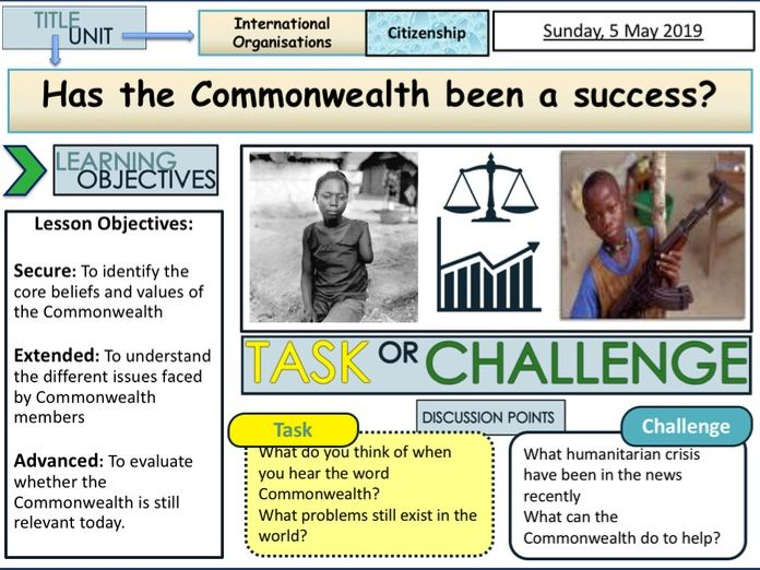 Commonwealth + Success and Failures