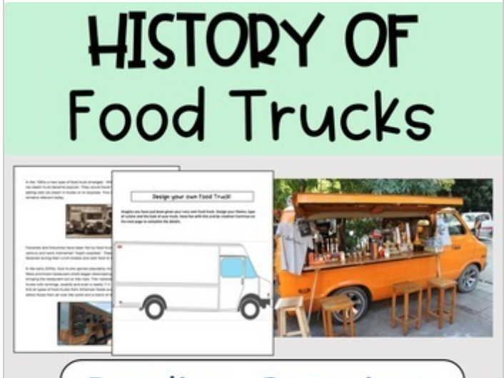 Food Truck Lesson