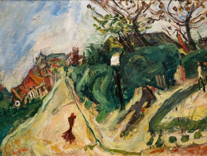 Chaim Soutine quotes, on his dynamic painting art & artistic life in France; for students and pupils