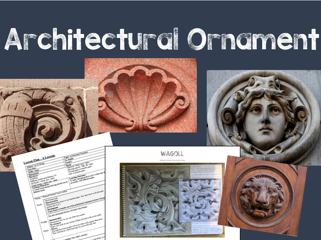 Architectural Ornament - Using Different Media