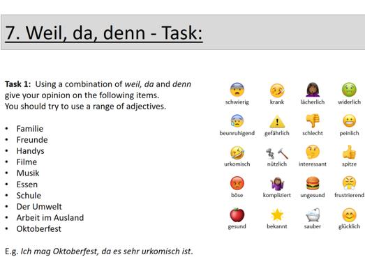 GCSE German Grammar Revision