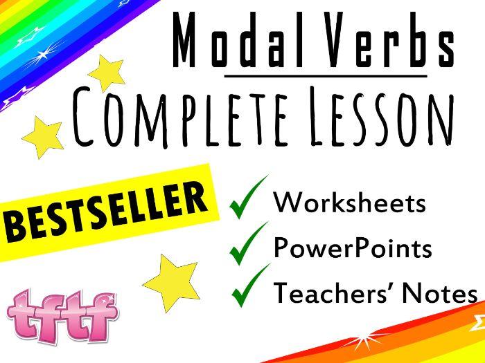Modal Verbs Activities Ks2 : Modal verbs worksheet