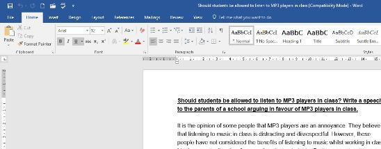 Writing to argue. Counterargument.