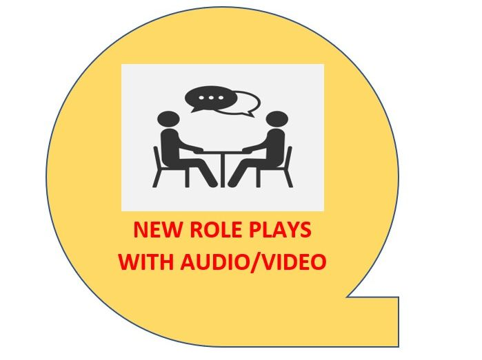 REVISION NEW IGCSE ROLE PLAY WITH AUDIO/VIDEO 1-9