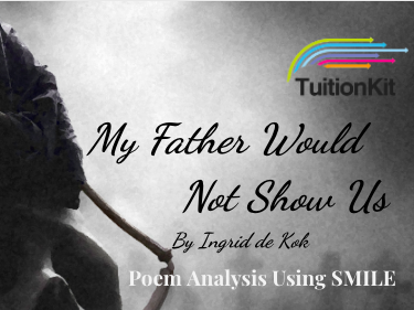 My Father Would Not Show us - by Ingrid De Kok (SMILE Analysis points)