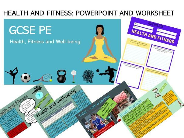Health, Fitness and Well Being - GCSE PE