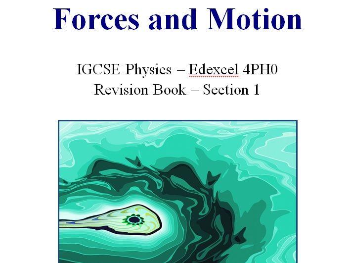 Physics Edexcel IGCSE Course Notes