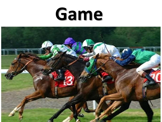 Probability Horse Race Game