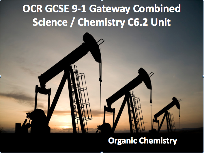 OCR GCSE 9-1 Gateway Combined Science / Chemistry C6.2 Unit - Part 2