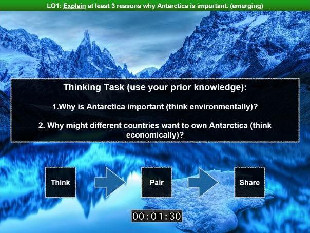 Conflict SOW: Lesson Four - Antarctica