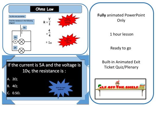 Electricity KS3 - Ohms Law