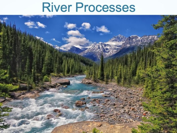 RIVERS Powerpoint (2 of 6): River Processes (Cambridge IGCSE)