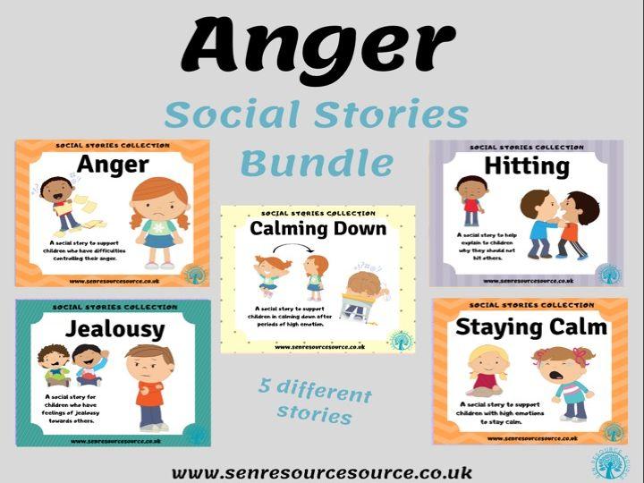 Anger Social Story Bundle