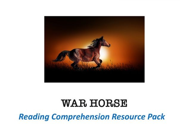 War Horse Reading Comprehension