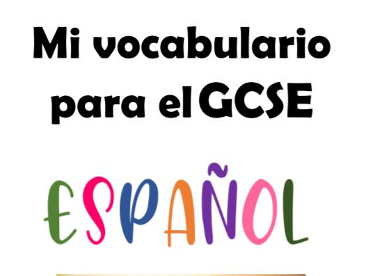 AQA Spanish GCSE Vocabulary Booklet