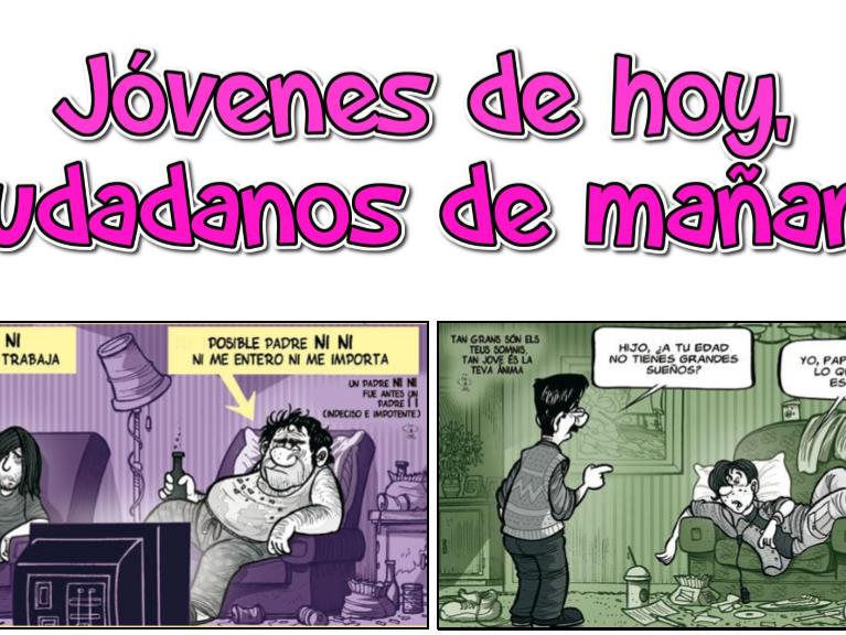 Spanish A2 - Jóvenes de hoy, ciudadanos de mañana - Lista de vocabulario (new curriculum)