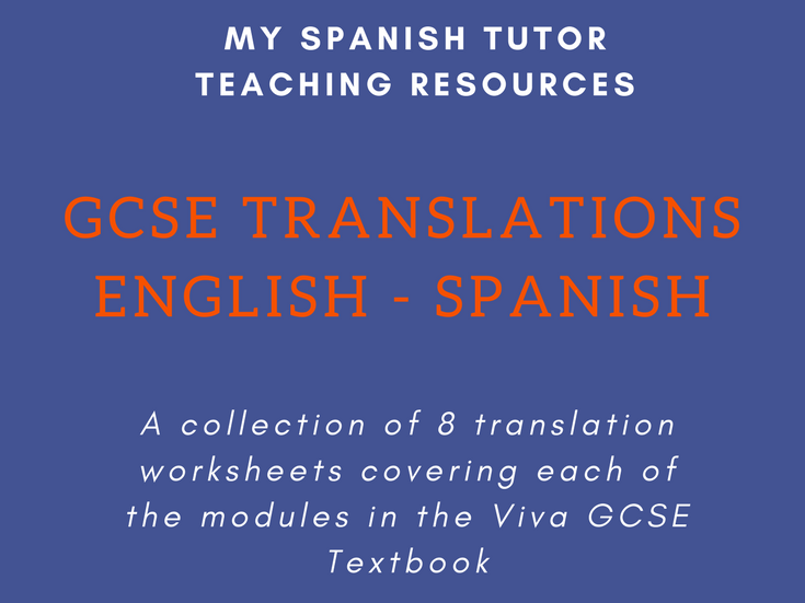 English to Spanish Translations Bundle