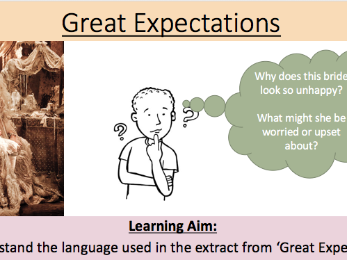 Great Expectations - Edexcel - Language Paper 1 Section A Lessons