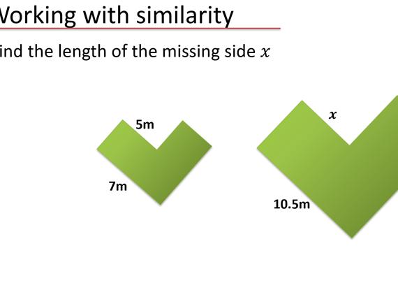 Edexcel GCSE (9-1) Maths Higher - Unit 12 Similarity and Congruence
