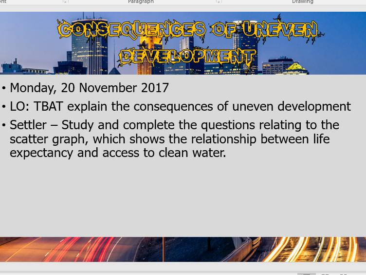 AQA GCSE Geography - Section B1 Changing Economic World (Development)
