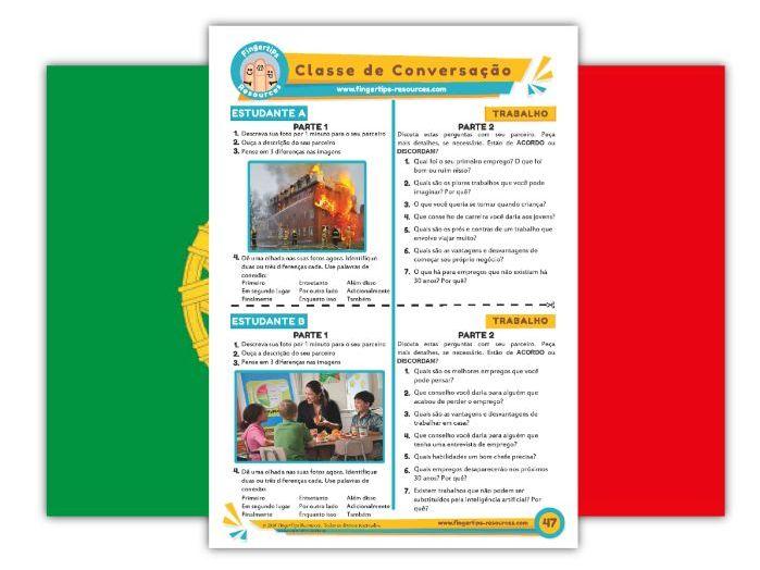 Trabalho - Portuguese Speaking Activity