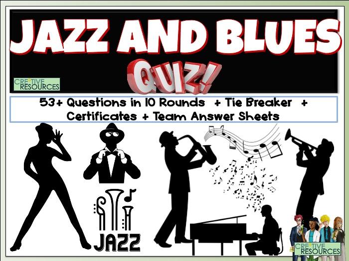 Jazz and Blues Quiz