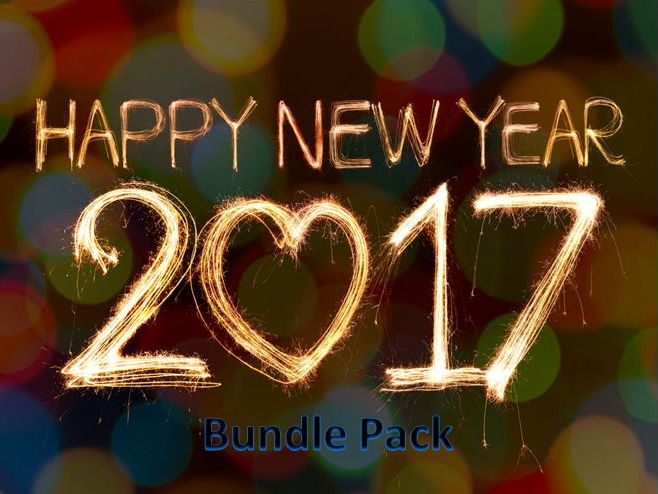 New Year 2017 Bundle – Resources Ideal for the New Year
