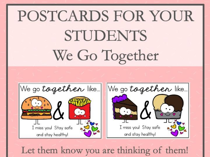 Postcards for Your Students