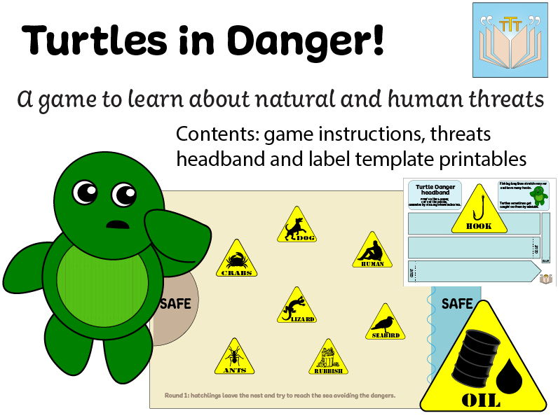 Turtles In Danger Game