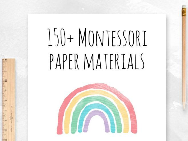Montessori Worksheets and 3-Part Cards