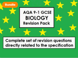 ALL OF GCSE BIOLOGY (9-1) - EVERYTHING INCLUDED