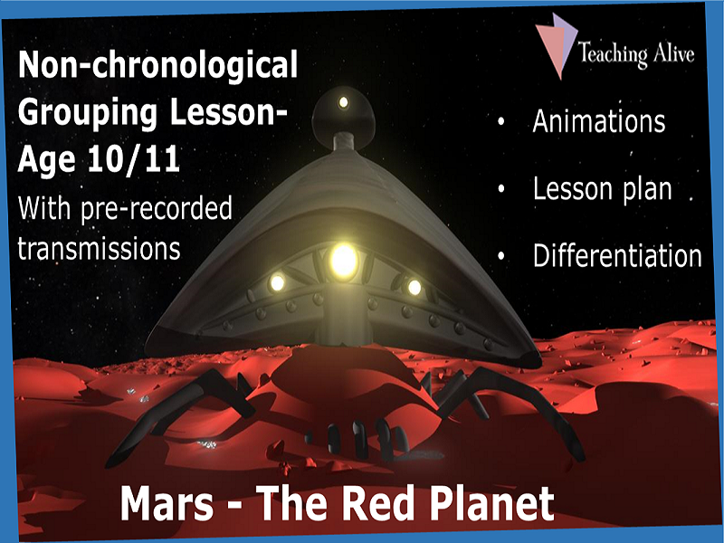 Age 10/11 Group Non-chronological Information- Animations & PowerPoints