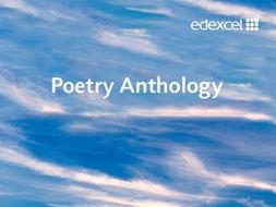 GCSE EDEXCEL RELATIONSHIP POETRY ANTHOLOGY FULL LESSONS