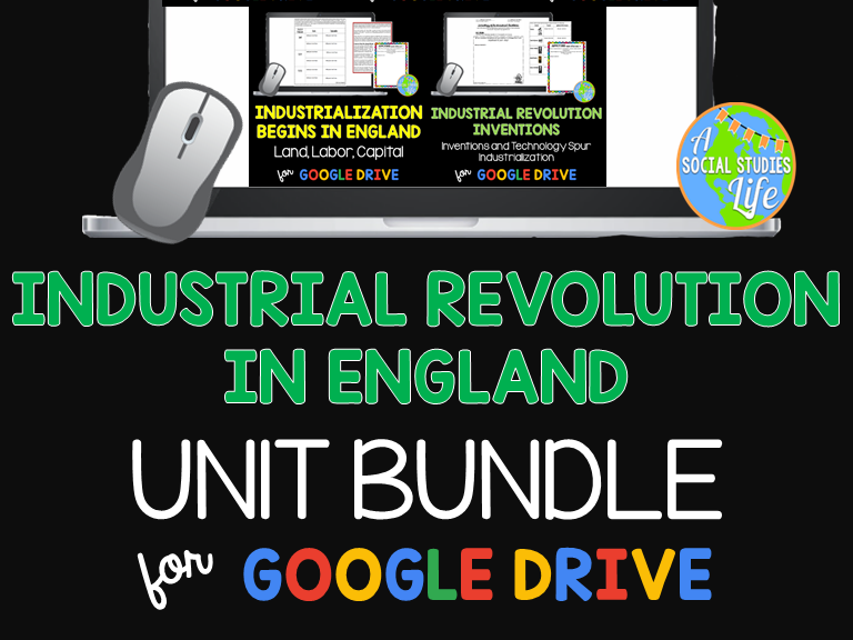 Industrial Revolution in England UNIT BUNDLE