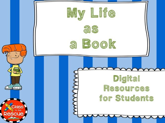 My Life as a Book Digital Novel Study