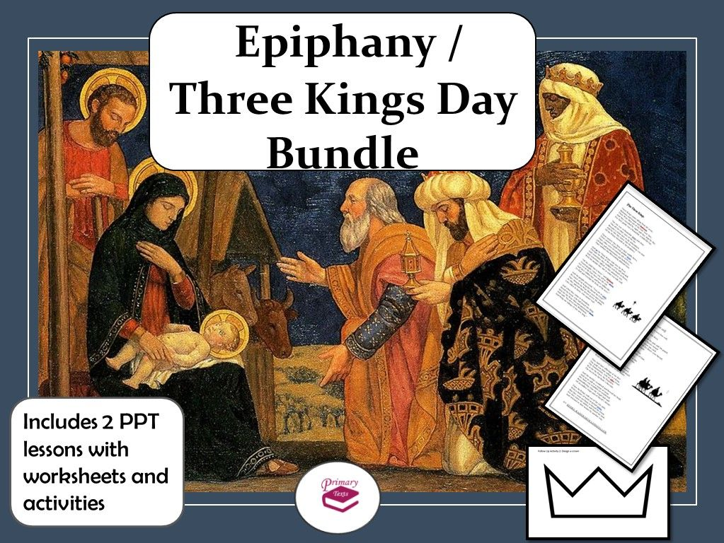 Epiphany / Three Kings Day PPT Lesson Bundle